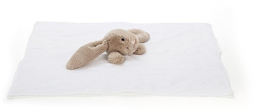 Jellycat Bashful Beige Lapin Mousseline Soother - 40cm-2