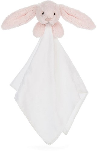 Jellycat Bashful Rose Lapin Mousseline Soother - 40cm