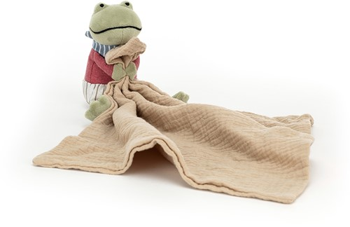 Jellycat Little Rambler Frog Soother - 30x13cm