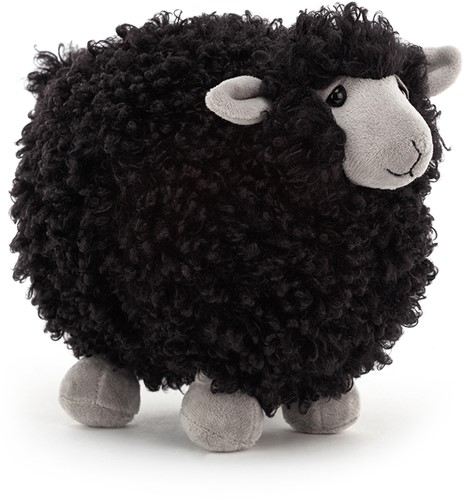 Jellycat Rolbie Sheep Black Small - 15x13cm
