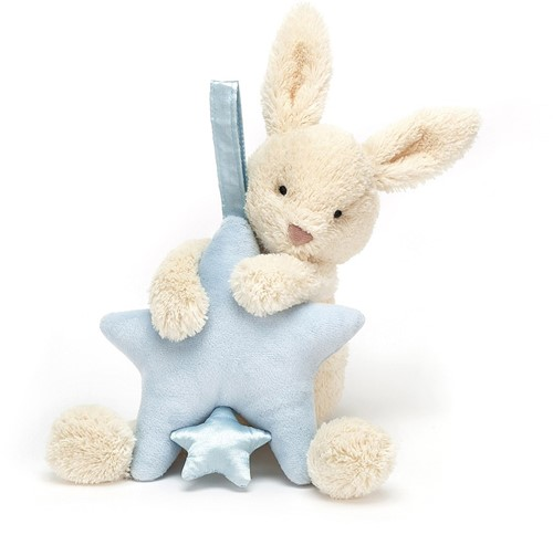 Jellycat Peluche Étoile Lapin Tirer Musicale