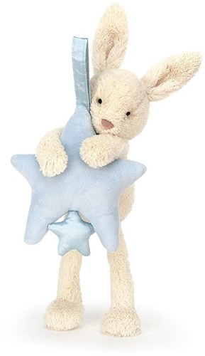Jellycat Peluche Étoile Lapin Tirer Musicale -2