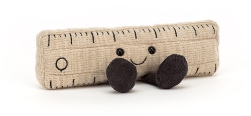 Jellycat Smart Stationery Ruler Small - 7x15cm