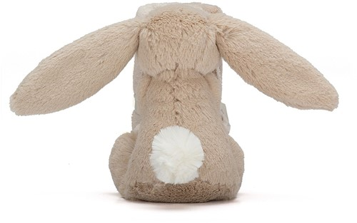 Jellycat Bashful Doudou Beige Lapin Soother - 33 cm-2