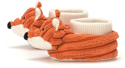 Jellycat Cordy Roy Renard Chaussons - 13cm-2