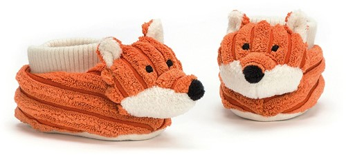 Jellycat Cordy Roy Renard Chaussons - 13cm