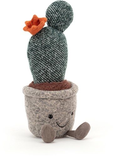 Jellycat Silly Succulent Prickly Pear Cactus - 24cm